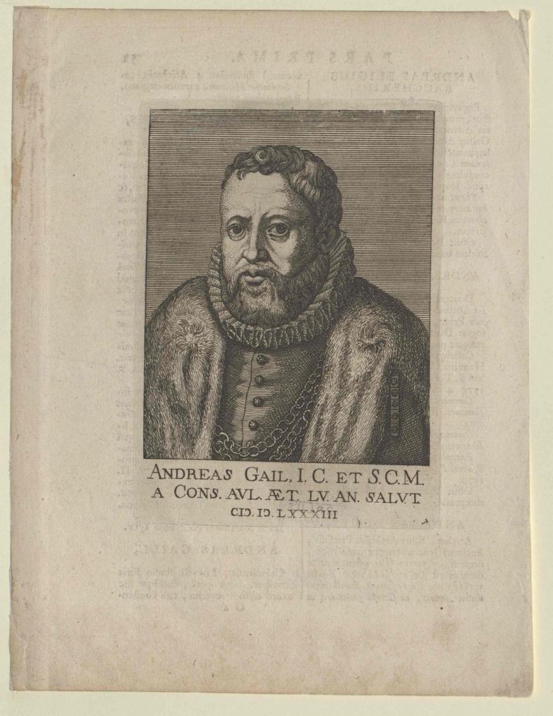 Gaill, Andreas von