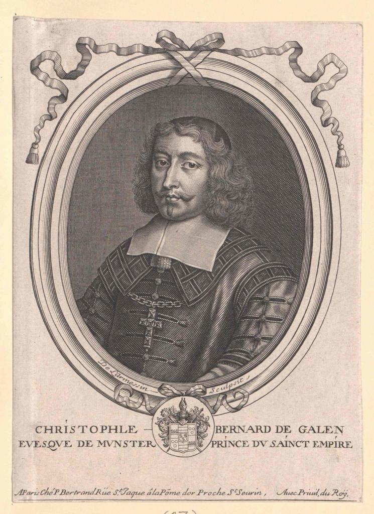 Galen, Christoph Bernhard von