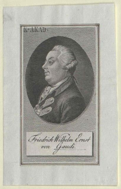 Gaudy, Friedrich Wilhelm Ernst von