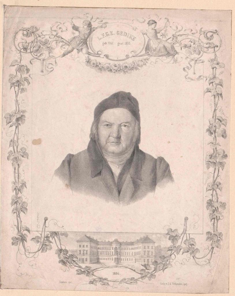 Gedike, Ludwig Friedrich Gottlob Ernst