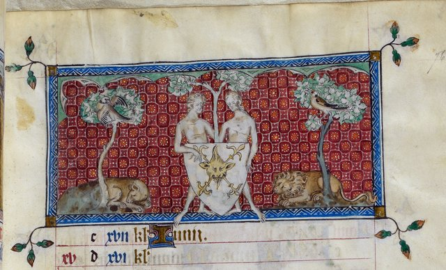 Gemini from BL Royal 2 B VII, f. 76