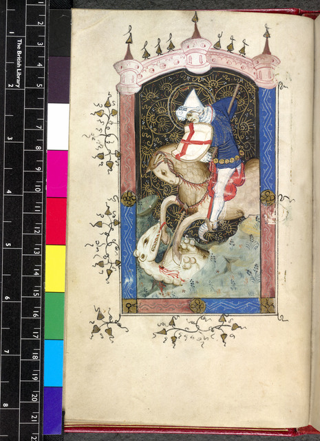 George from BL Sloane 2683, f. 14v