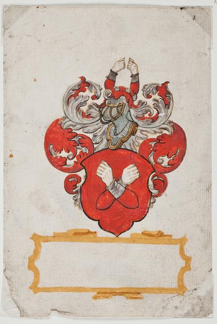 Geschilderd wapen / van N.N. voor [Johan van Loenersloot (ca. 1550-ca. 1601)]