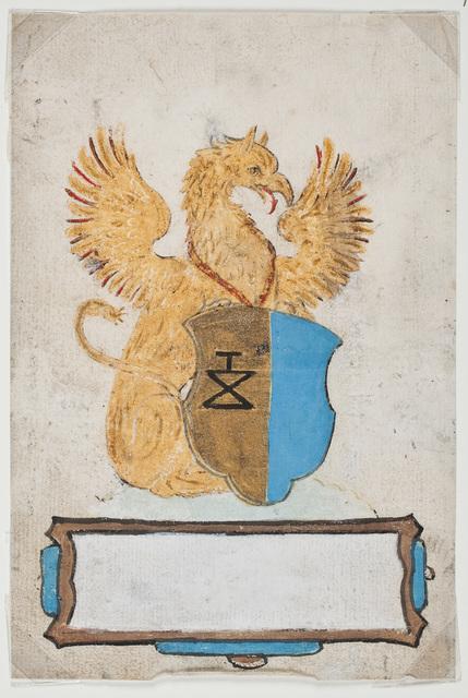 Geschilderd wapen / van N.N. voor [Johannes van Loenersloot (ca. 1550-ca. 1601)]