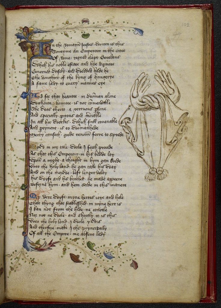 Gloves from BL Royal 17 D VI, f. 102
