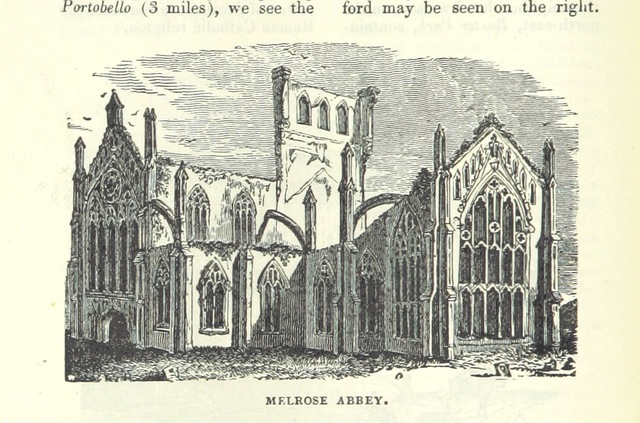 """Gothic architecture from """"[Appleton's European Guide Book illustrated. Including England, Scotland, and Ireland, France, Belgium, Holland, Northern and Southern Germany, Switzerland, Italy, Spain and Portugal, Russia, Denmark, Norway, and Sweden. Containing ... maps, etc.]"""""""
