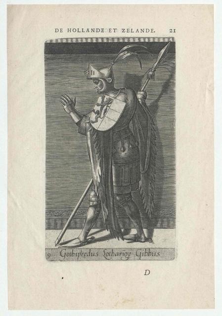 Gottfried [IV.], der Bucklige, Herzog von Niederlothringen