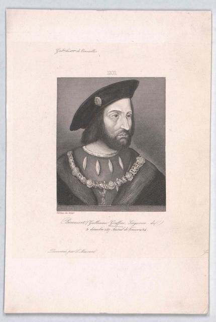 Gouffier, Signeur de Bonnivet, Guillaume