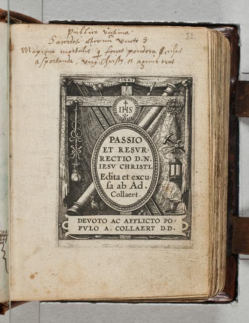 Gravures uit #Adriaen Collaert (ca. 1560-1618), Passio et resurrectio D.N. Iesu Christi#