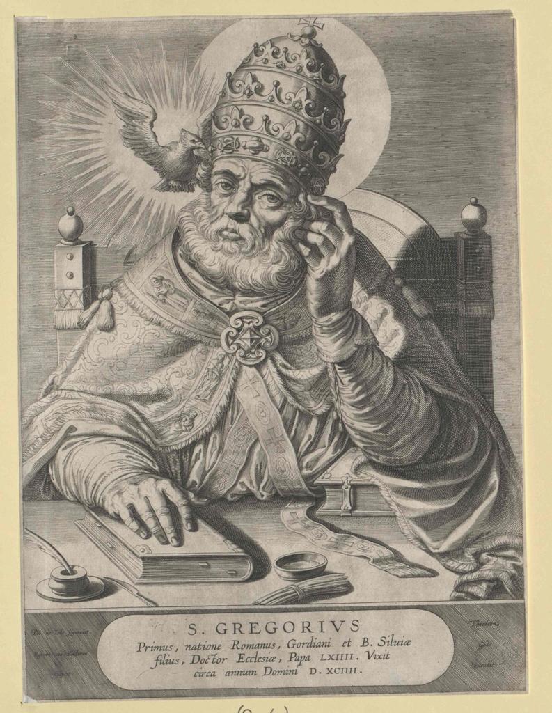 Gregor I. der Große, papa