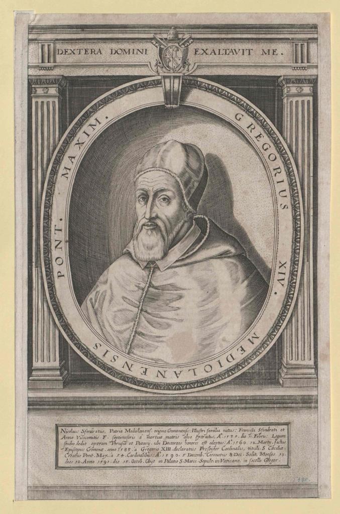 Gregor XIV., papa