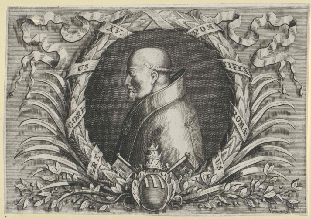 Gregor XV., papa