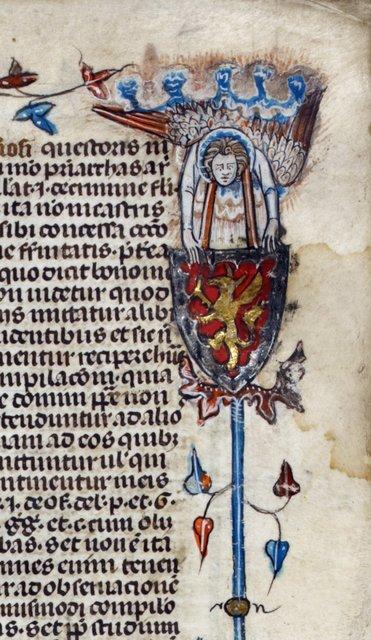 Grotesque from BL Royal 10 E IV, f. 4