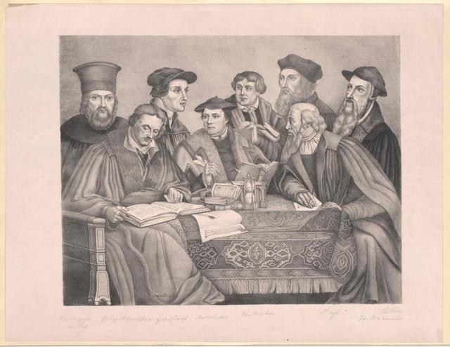 Gruppenbild Acht Religionsreformatoren