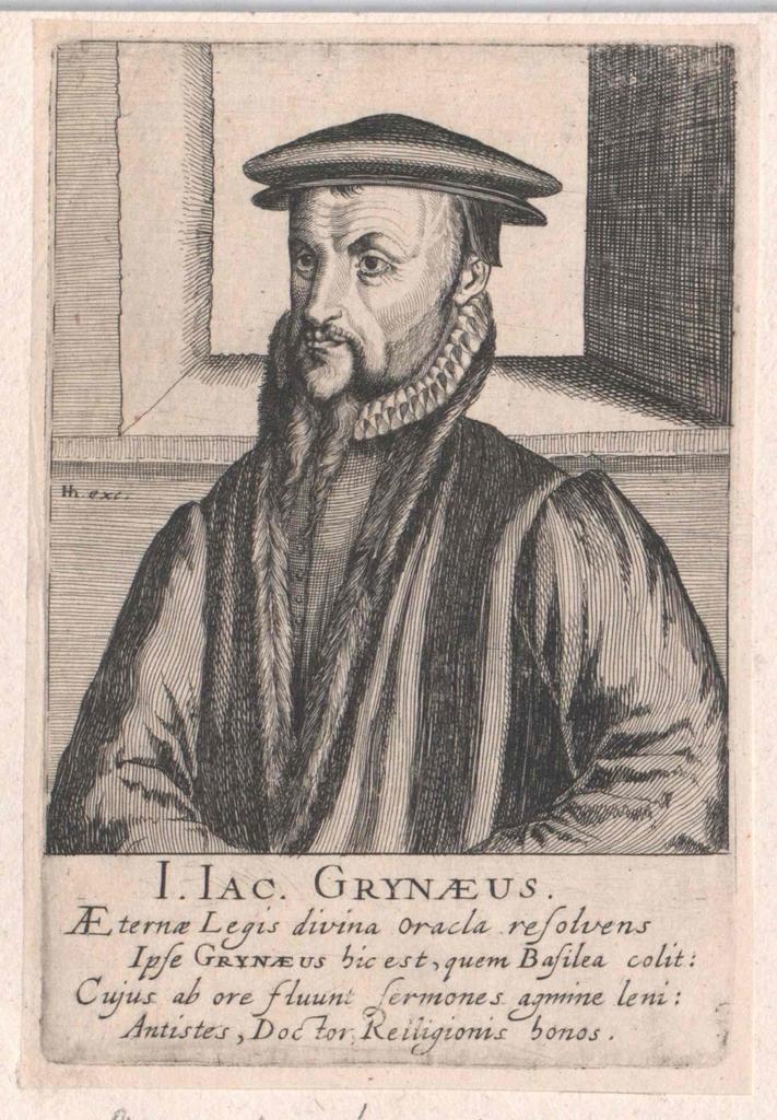 Grynäus, Johann Jakob