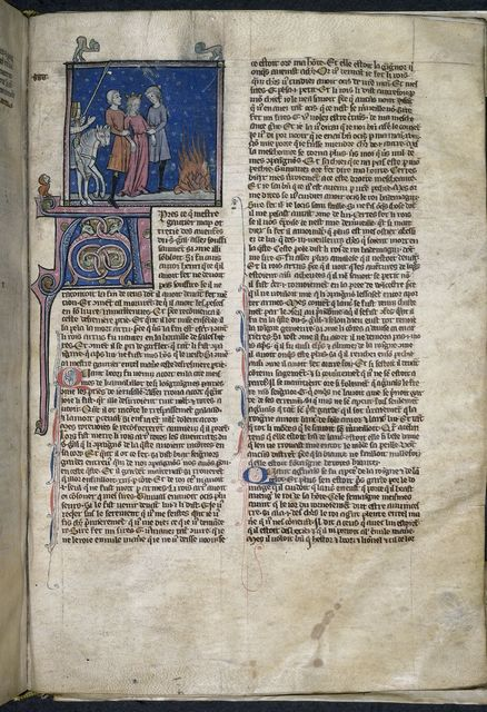 Guinevere from BL Royal 20 C VI, f. 150