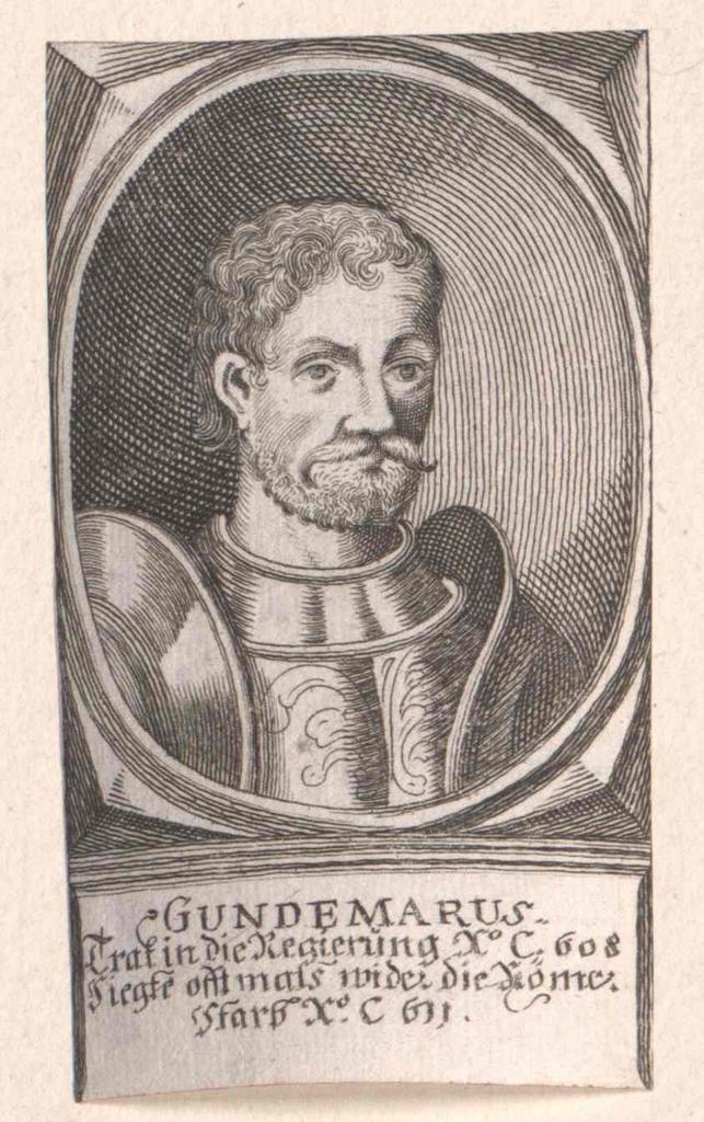 Gundemar, König der Westgoten