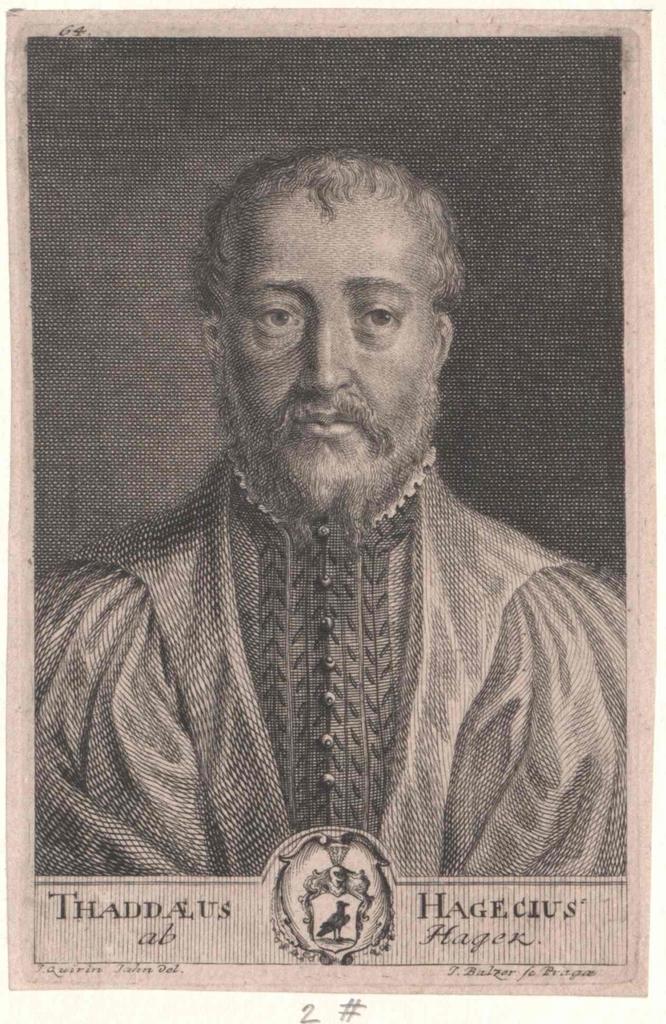Hagek, Thaddäus Hagecius von (1525-1600)