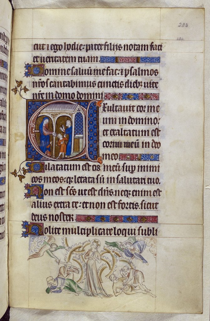 Hannah, Samuel and Eli from BL Royal 2 B VII, f. 283
