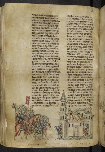 Hannibal from BL Royal 20 D I, f. 280v
