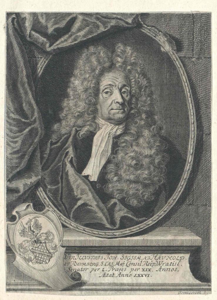 Haunold, Johann Sigismund von