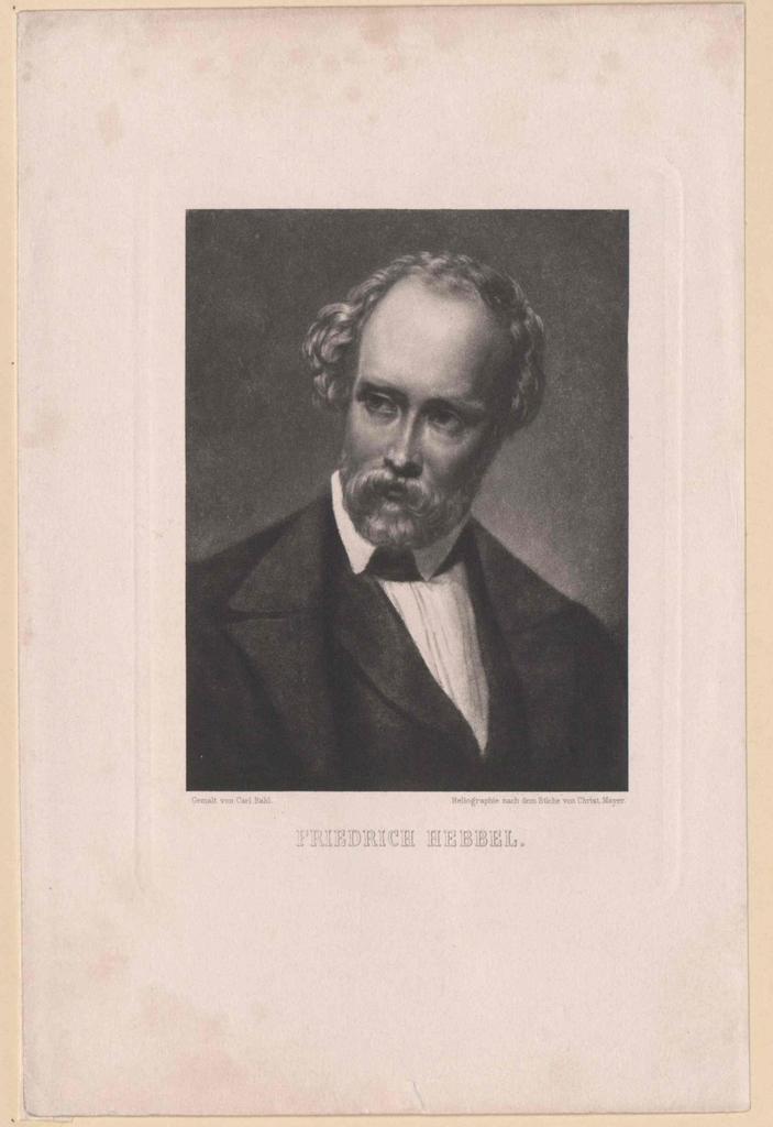 Hebbel, Friedrich