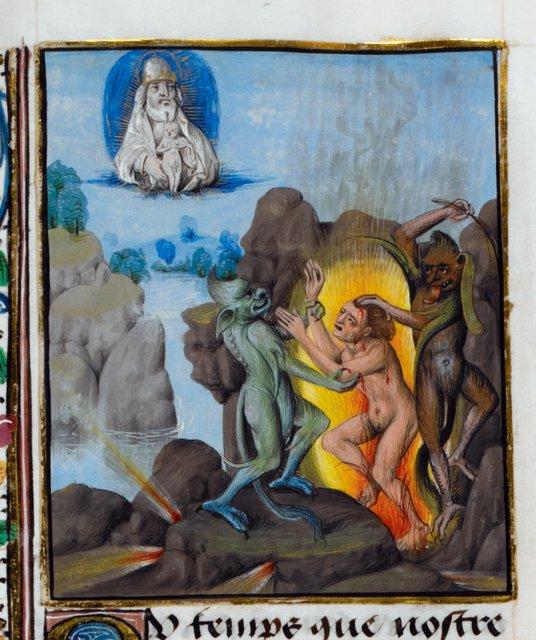 Hell from BL Royal 15 D V, f. 107v