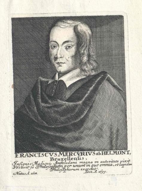 Helmont, Franciscus Mercurius van