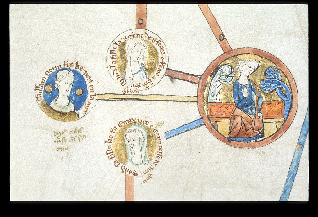 Henry I from BL Royal 14 B V, Membrane 5
