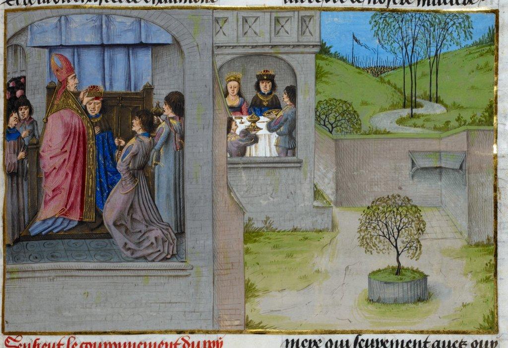 Henry I from BL Royal 15 E IV, f. 246