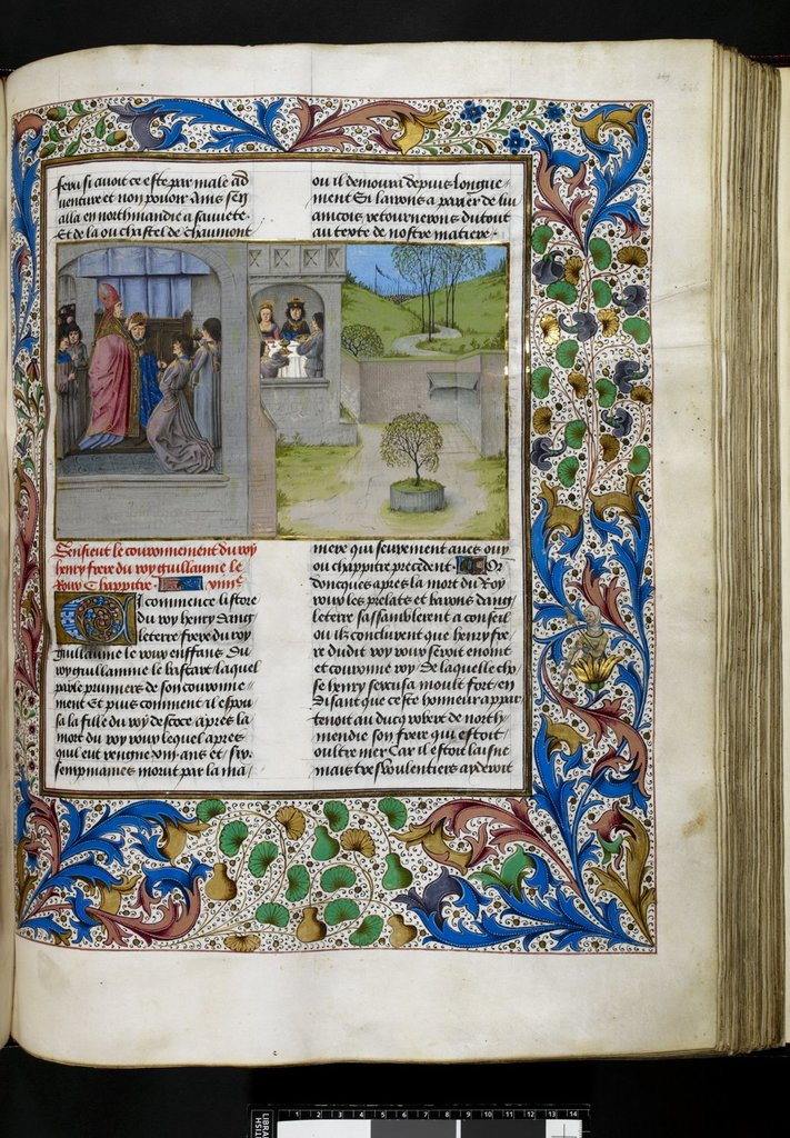 Henry I from BL Royal 15 E IV, f. 246