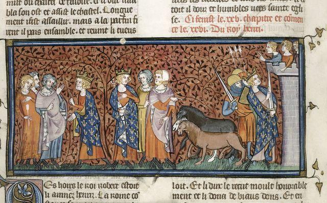 Henry of France from BL Royal 16 G VI, f. 263v