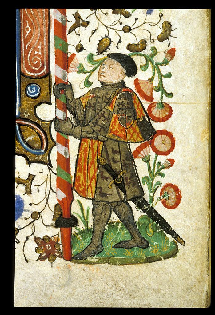 Herald from BL Royal 15 E VI, f. 43