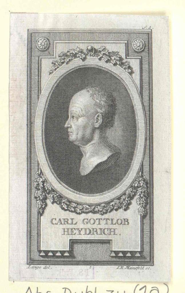 Heydrich, Karl Gottlob