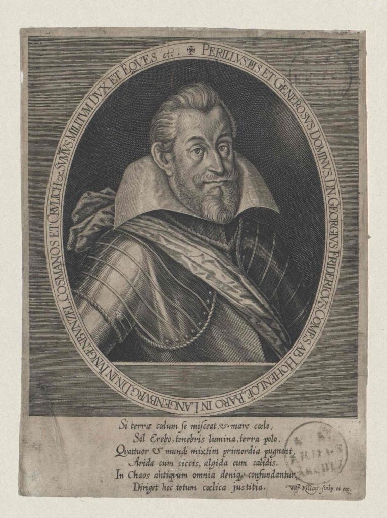 Hohenlohe-Neuenstein, Georg Friedrich Graf von