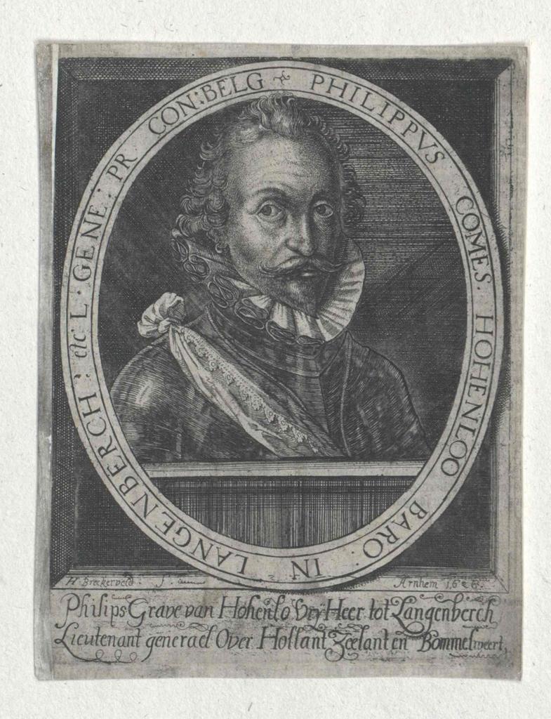 Hohenlohe-Neuenstein, Philipp Ernst Graf