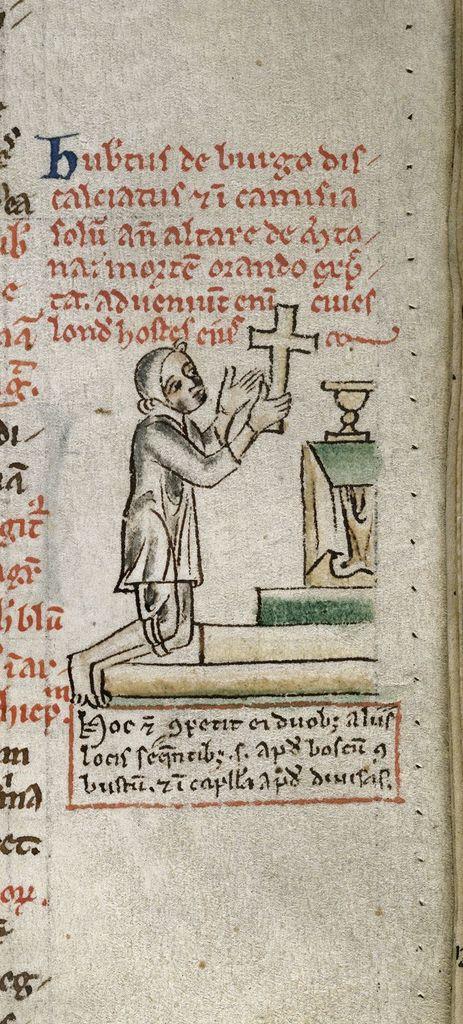 Hubert de Burgh from BL Royal 14 C VII, f. 119