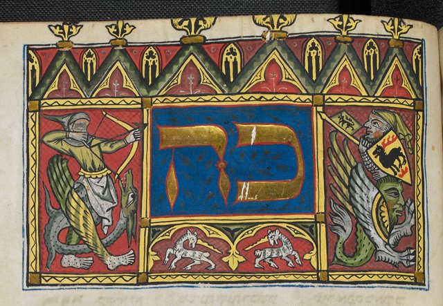 Hybrids and unicorns from BL Add 15282, f. 314