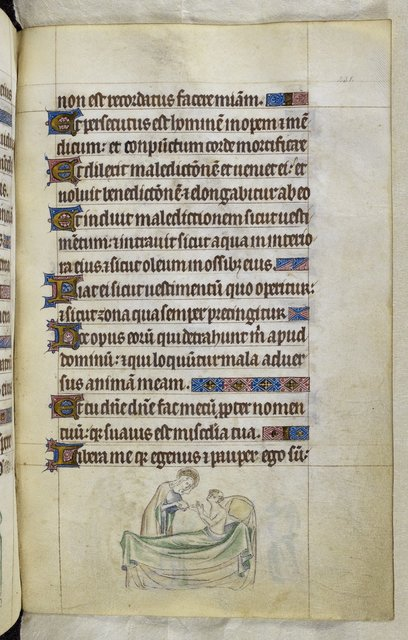Ill monk from BL Royal 2 B VII, f. 231