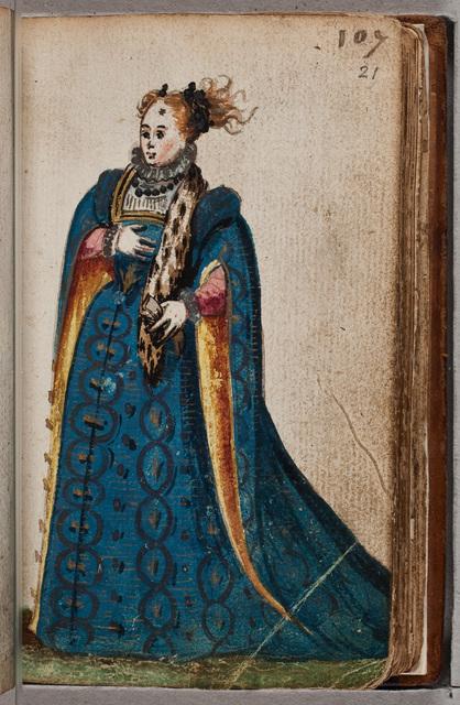 Illustratie in het album amicorum van Leonardus Hartmann