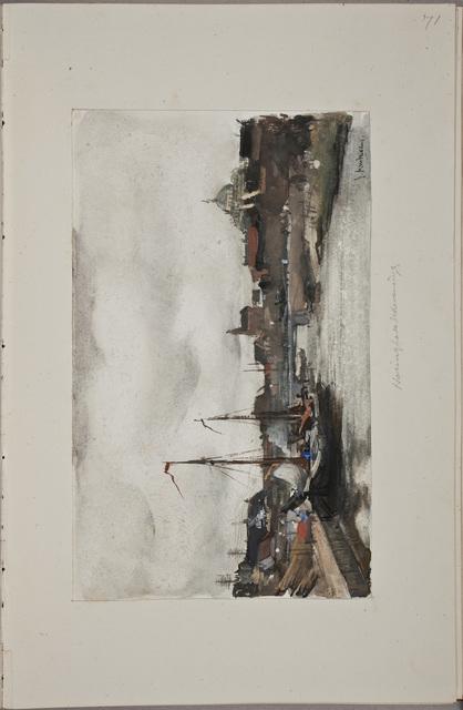 Illustratie / van Pieter Florentius Nicolaas Arntzenius (1864-1925), kunstenaar, in het autografenalbum van Rudolf Hugo Driessen (1873-1946) en Caroline Driessen-Kleyn (1883-1938)