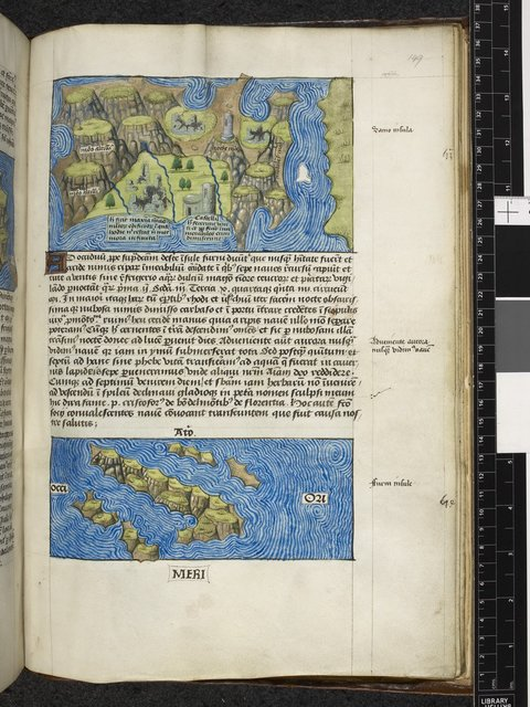 Image from BL Arundel 93, f. 149