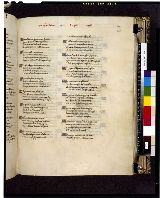 Image from BL Harley 4431, f. 263