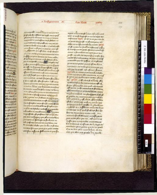 Image from BL Harley 4431, f. 278