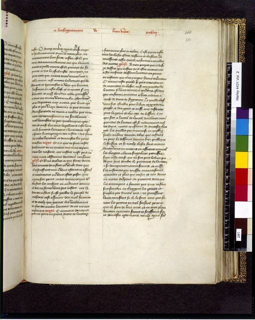 Image from BL Harley 4431, f. 281