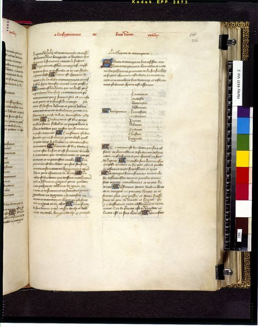 Image from BL Harley 4431, f. 286