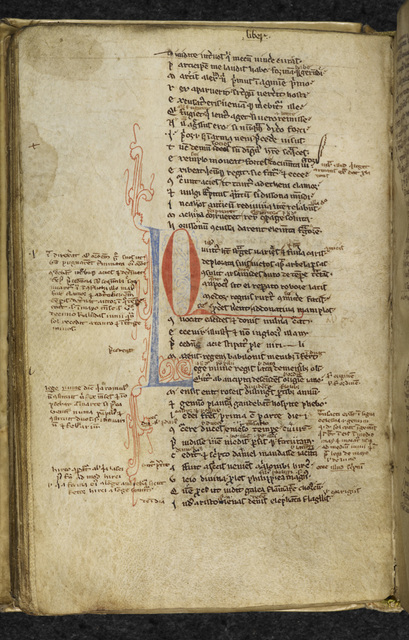 Initials from BL Royal 8 B IV, f. 48v