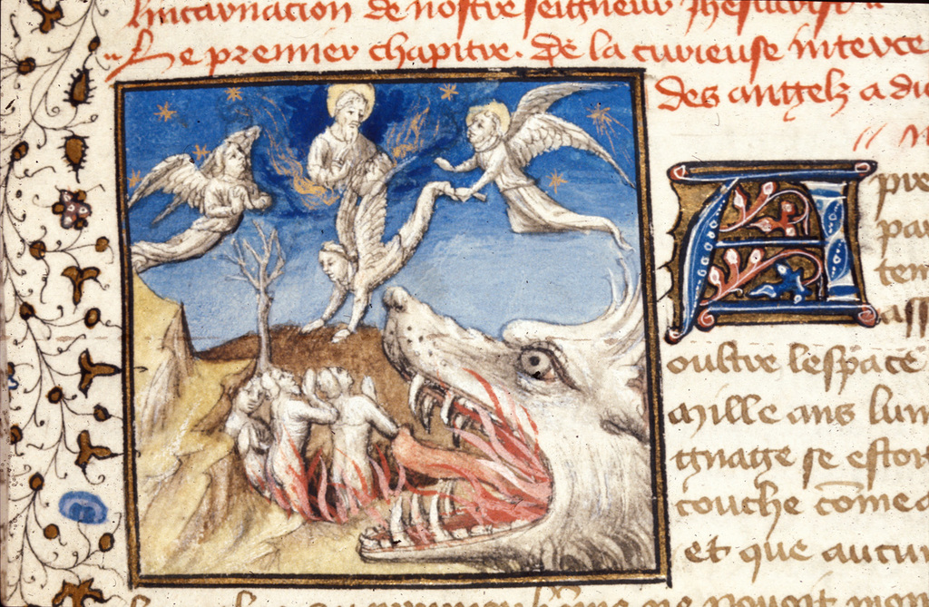 Intercession of the Angels from BL Royal 20 B IV, f. 6