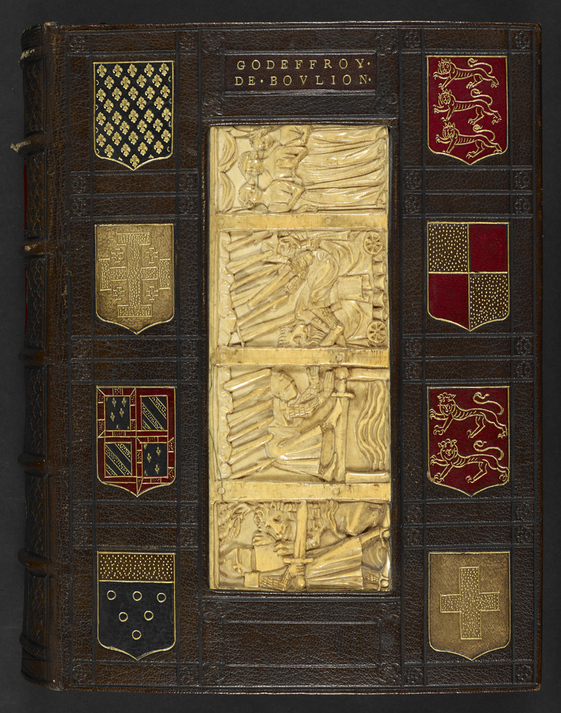 Ivory panel from BL Add 36615, upper outside cover