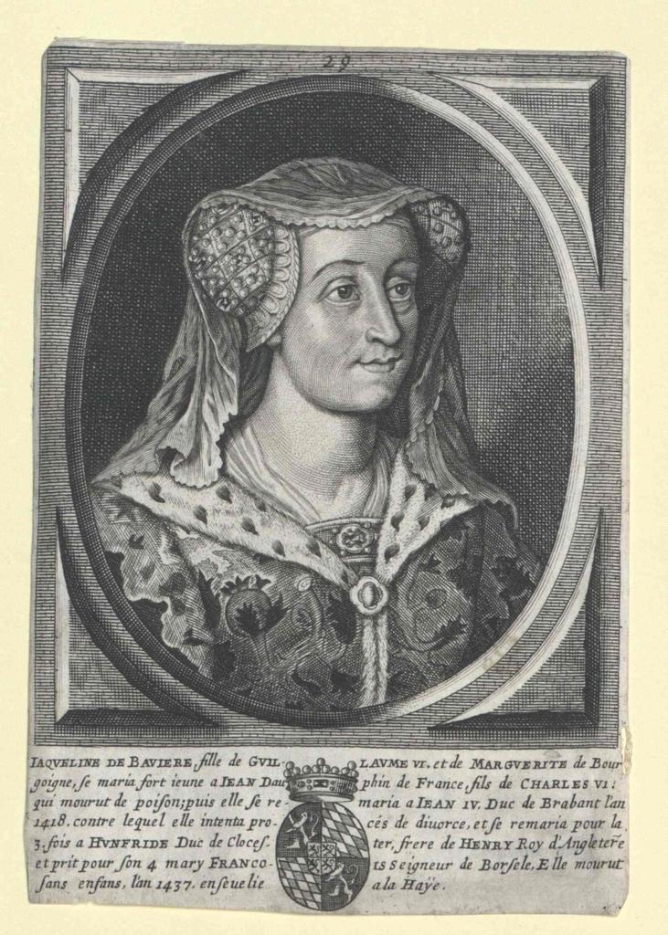 Jakobäa Prinzessin von Bayern Gräfin von Holland